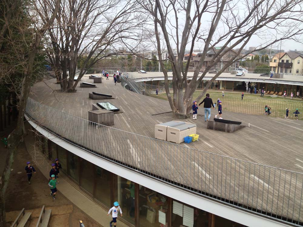 Kinder Garden: Fuji Kindergarten By Tezuka Architects Small Enough For A